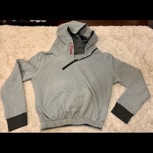P'tula Grey Cropped Hoodie | Women's Medium